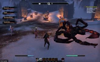 Dead really-fucking-giant Scorpion