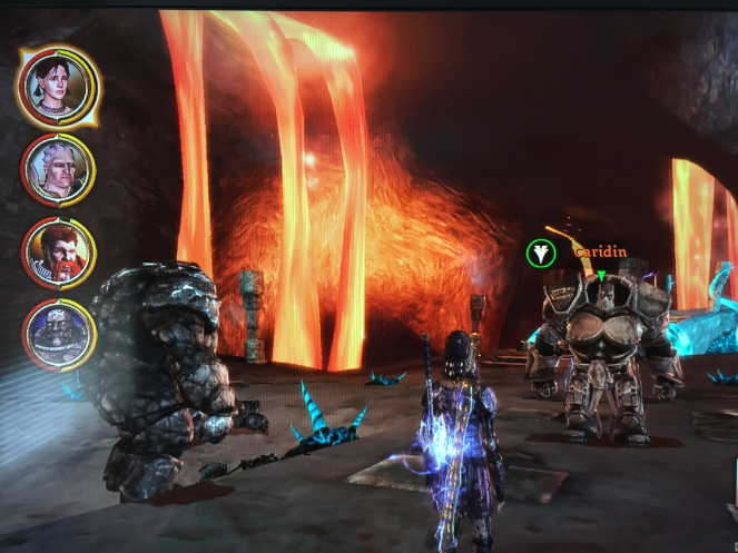 Branka and her stone golems are down