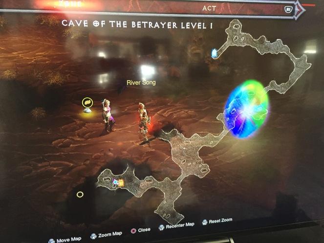 Random goblin spawn gave a rainbow portal to Whimsydale